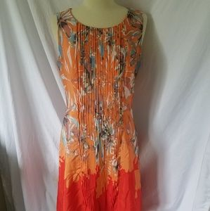 The Limited Women's Dress Size 4 Sheath Orange
